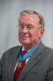 Medal of Honor recipient, Tom Kelley